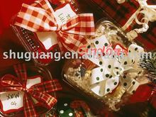 2012 with ribbon bow Christmas gift packing box