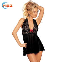 HSZ-7047 Mature Women Sexy Lingerie Factory Direct Sale Sexy Hot Lingerie Underwear Bra And Panty Nightwear