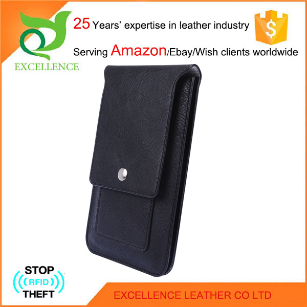 Helpful universal smart phone wallet style leather case Rfid Wallet OEM/ODM Factory 25 Years' Experience