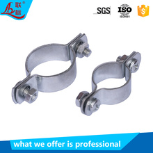 Guangzhou Wholesale Galvanized Steel Cable Fixing Clip Pipe Clamp Round Tube Clamp