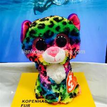 wholesale TY beanie boos Big eyes animal plush toy dog cat owl and deer Tiger plush toy