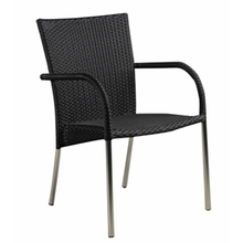 Aluminum Outdoor Wicker Dining Chair