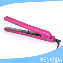 Professional 1 Inch Hair Straightener 100% Solid Ceramic Flat Iron