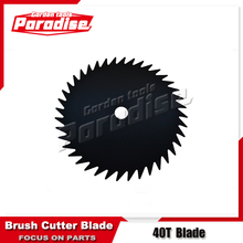 Cheap Garden Tools Black Color 40 Tooth Grass Saw Blade Price