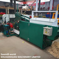 Wood Shaving Machine With Diesel Generator