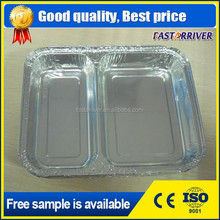 8011 1235 Disposable Aluminium Foil Tray/Container for Food Packaging