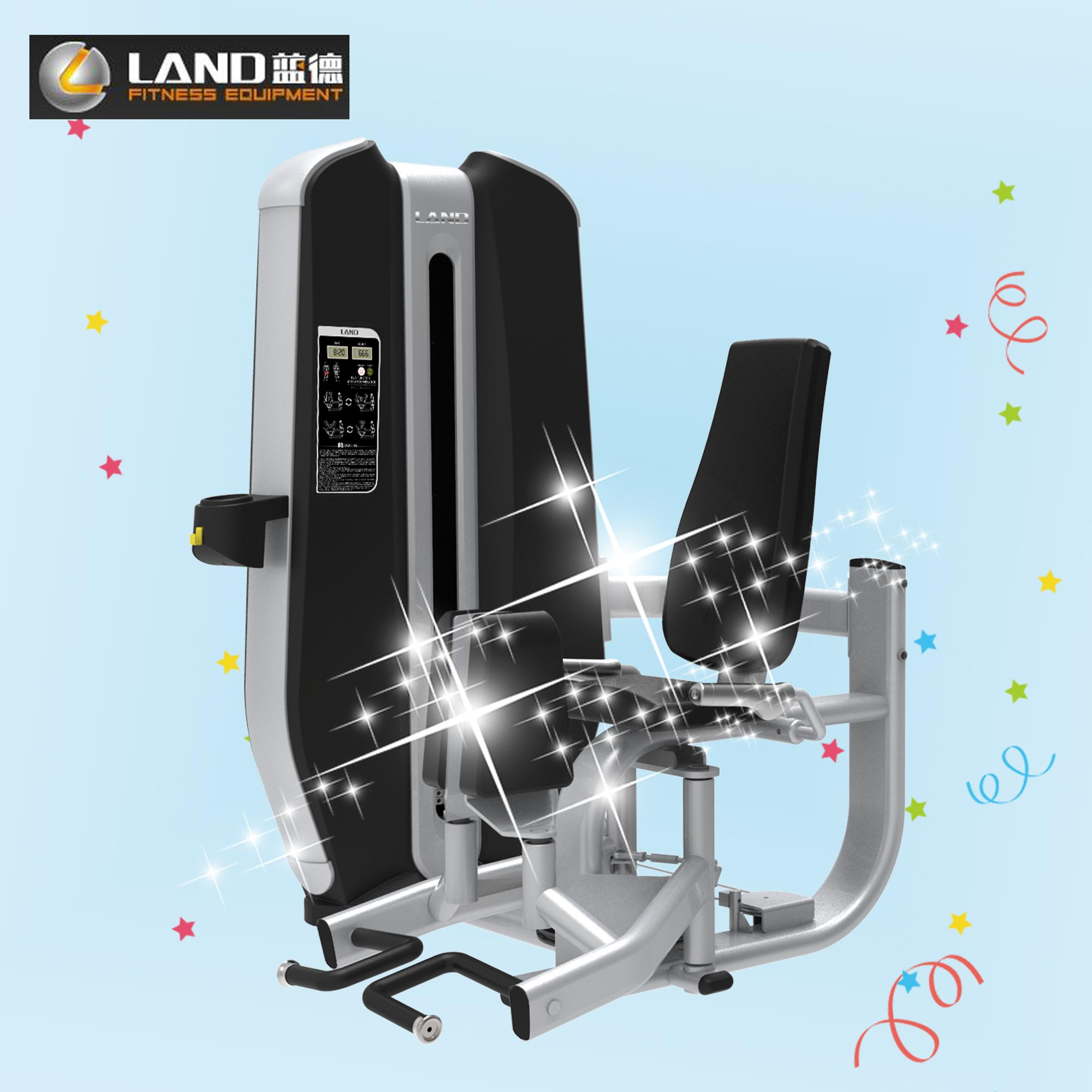 New Design 3mm Oval Tube Fitness Club Gym Machines Dual Function Abductor& Adductor Fitness Trainer