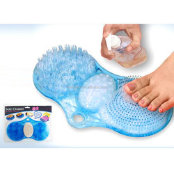 3 in 1 shower bath foot scrubber with massager