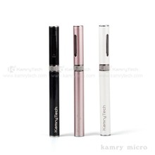 Refillable disposable vaporizer pen Kamry Micro e-cigarette kit with wireless charger vape