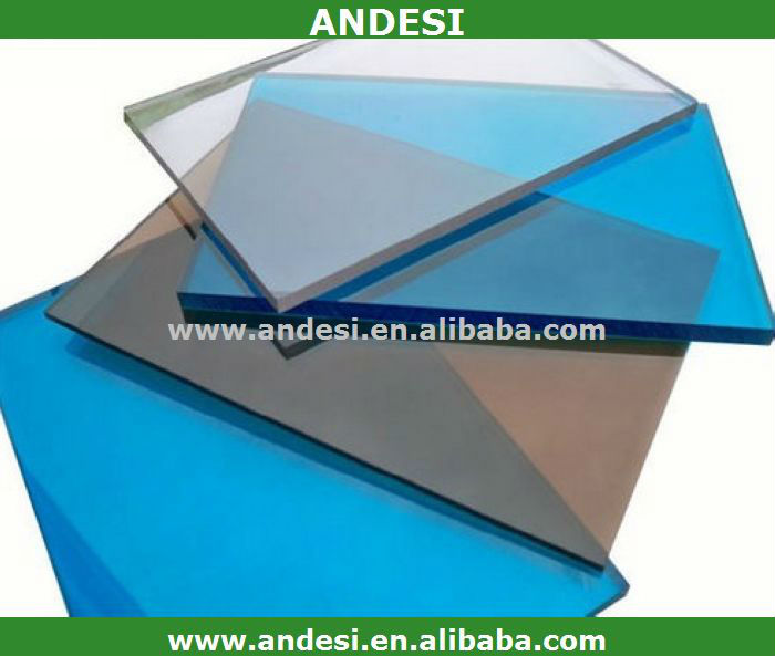 Building material for roofing plastic wall polycarbonate sheet