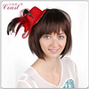 Red fashion cheap mini top hat with clip sale