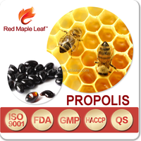 English Packing 100% Natural Pollen Royal Jelly Propolis Capsules