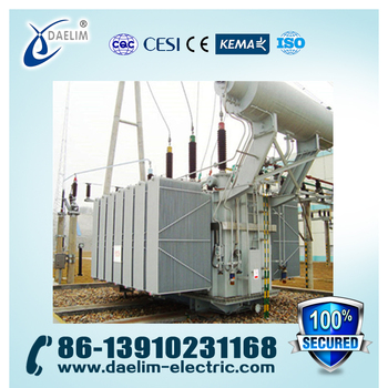110kv 16mva Three Phase Oil type Electric Transformer with Iron Core