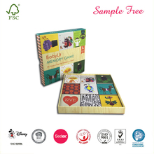 Children Educational Paper Flash Memory Cards