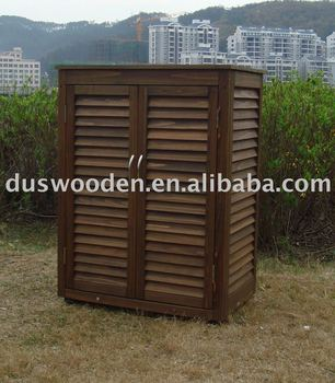 Garden tool storage outdoor storage cabinet