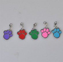 Pet Jewelry Dog Cat Pawprint Pendant Necklace Collar Grooming Accessories Products
