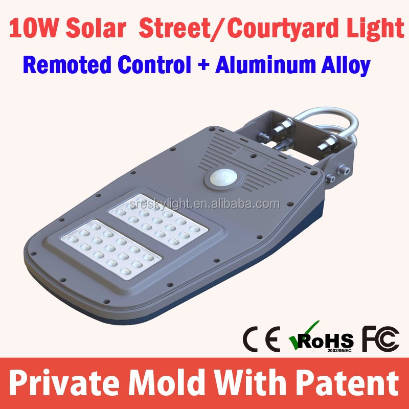 5W 3M High Lumen Solar Garden Light Outdoor System
