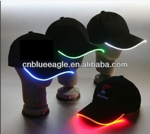 LED caps/hats twinkling equalizer custom el caps /hats