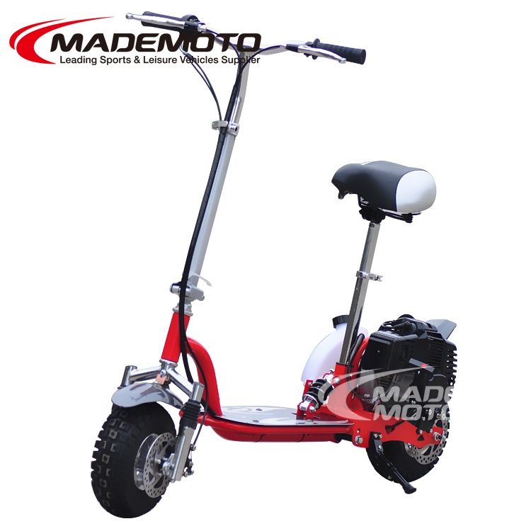 Cheap 49cc trike gas scooter with pedals for sale