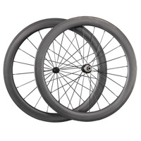 super light tubular carbon wheels road bike bicycle wheelset 56mm tubular ican 2016 new wheels W56T
