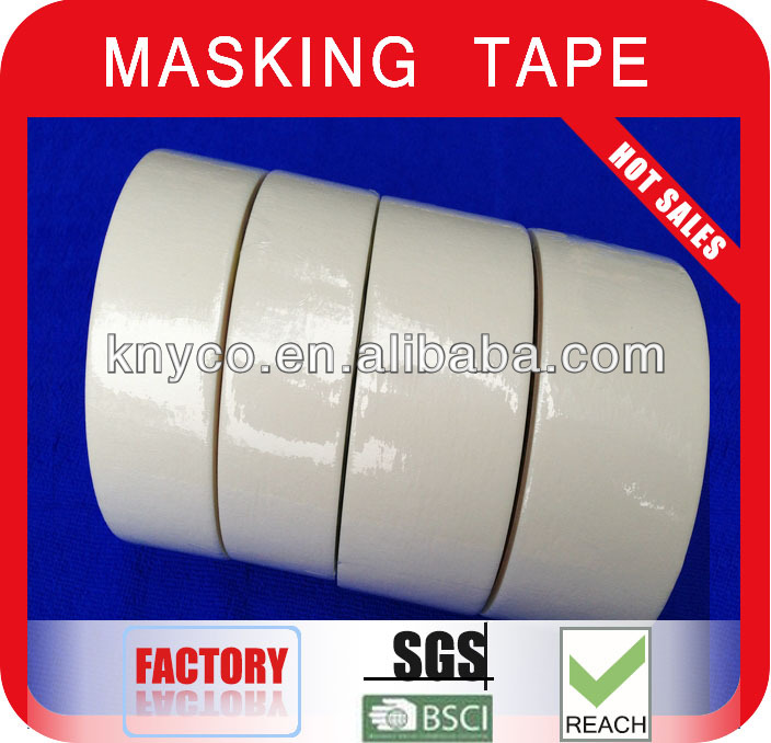 Crumpled Masking tape/adhesive tape for car spray