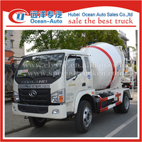 2015 Small Volume Truck Mounted Concrete Mixer truck