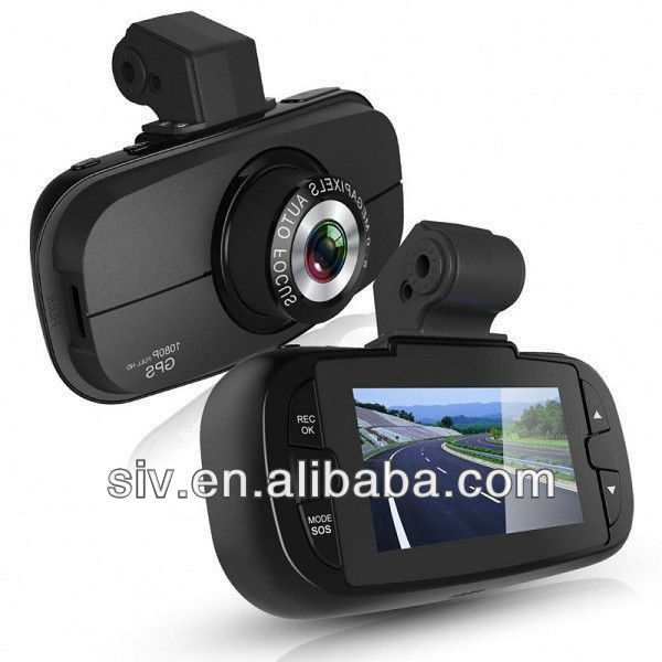 GS900 H.264 Night Vision Car Video Camera Recorder with GPS