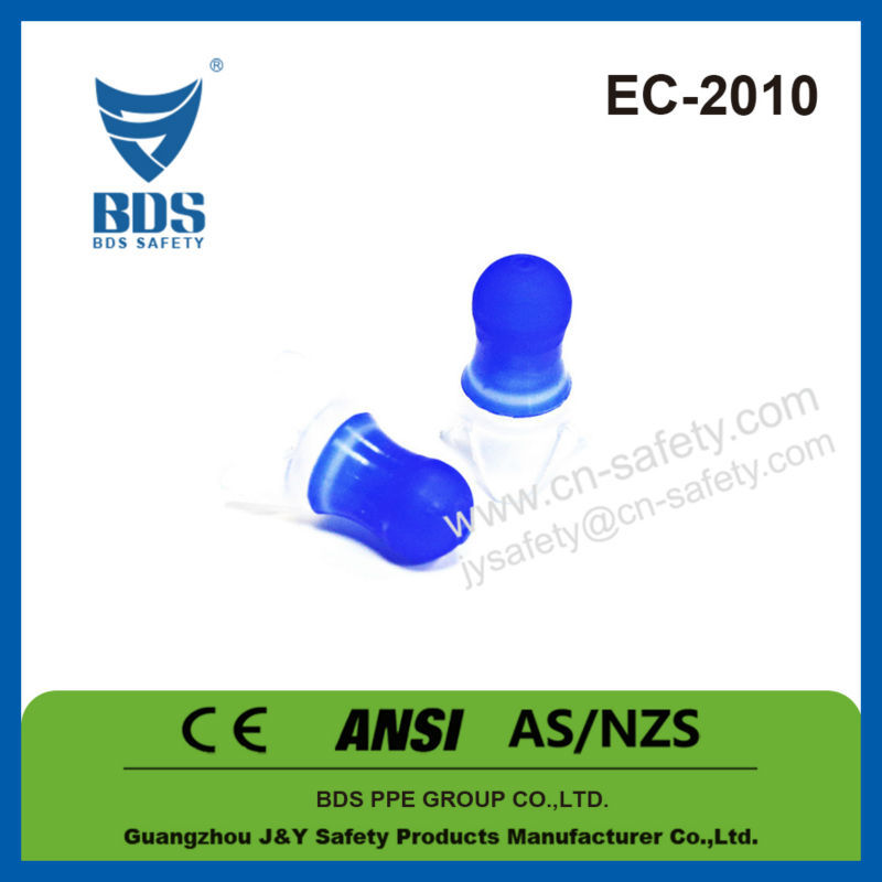 Wholesale medical hearing protection silicone earplugs CE