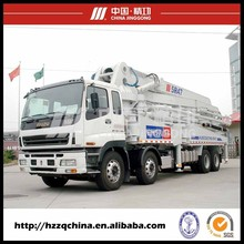 Hot sell mini concrete mixer truck with pump