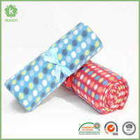 Promotion Gift Polyester Printed Polar Fleece Blanket