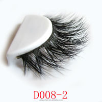 Qingdao wholsale top quality hand made 3d unique eyelashes