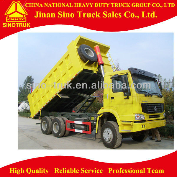 35 ton Man Diesel Low Price 10 Wheel dump truck
