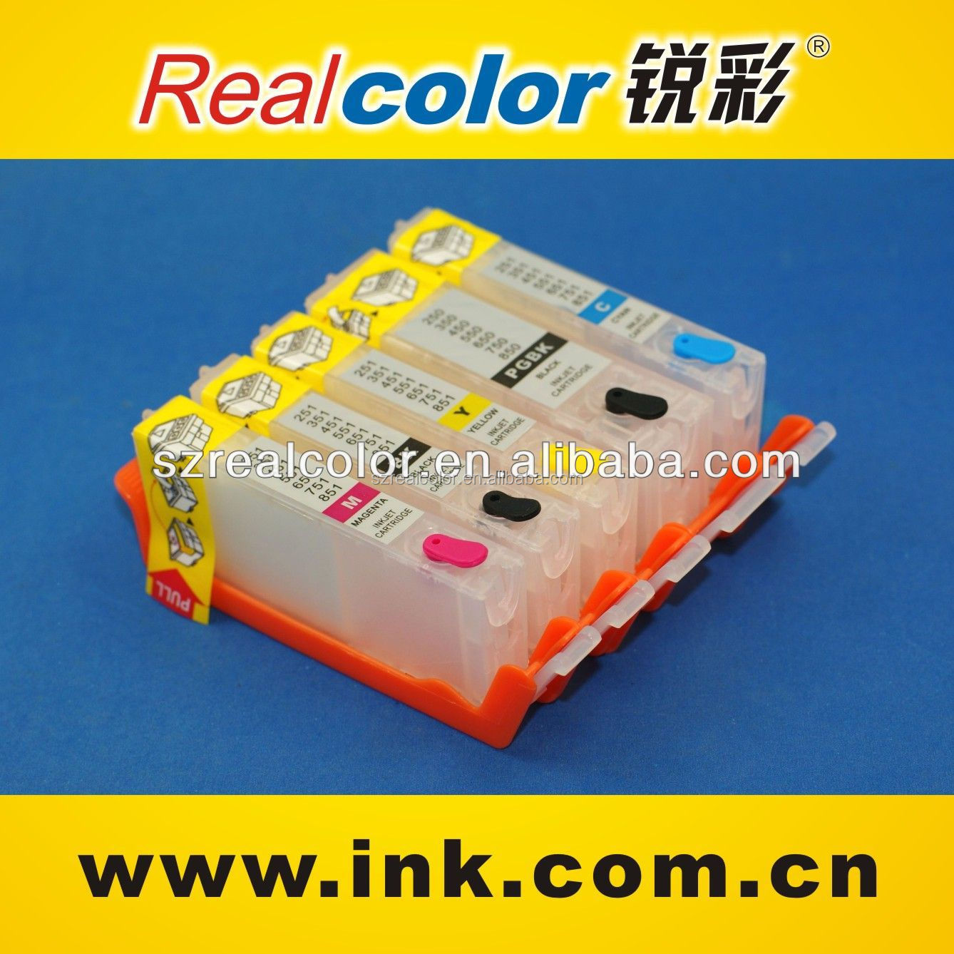 PGI-550 CLI-551 Refill ink cartridge for Canon PIXMA IP7250/MG6350/MG 5450/MX 925/ MX 725 PIXMA MG7150 printer