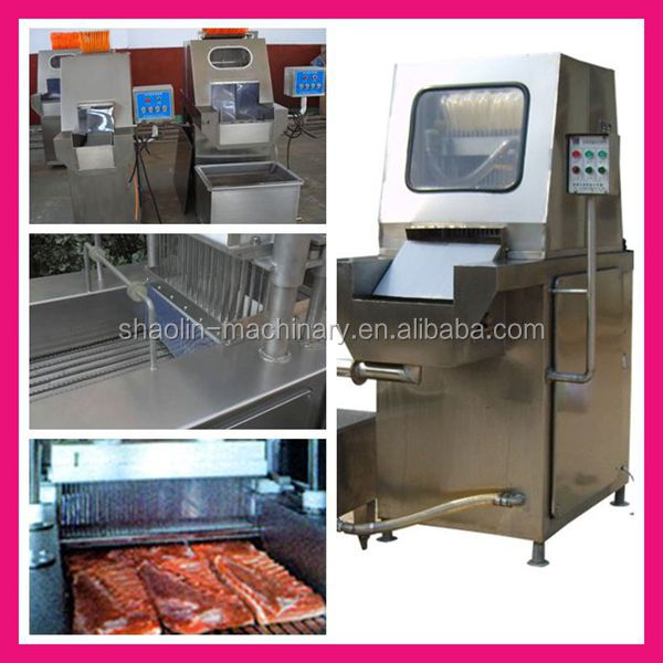 Factory price manual salt water injection machine for pickling for sale
