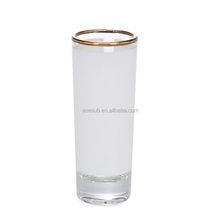 2.5 OZ Sublimation Coated Shot Glass