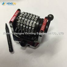 New xmhengou offset GTO numbering machine 6 digits vertical forward 012345 numeric printing machine 6 digts numbering machine
