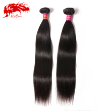 Real tangle free brazilian virgin straight human hair weave wholesale black hair products