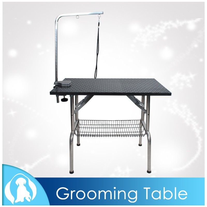 2015 High Quality Pet Dogs Articles Pet Grooming Table with Rubber Table Top N-310L, N-310M