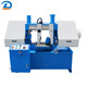 254mm Double Speed Band Saw Water Jet Modern Metal Cutting Processing Band Saw Machine