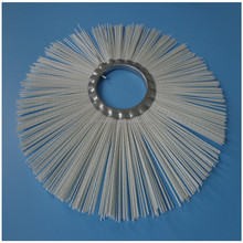 China Supply PP Wire Cleaning Road Snow Flat Ring Brush