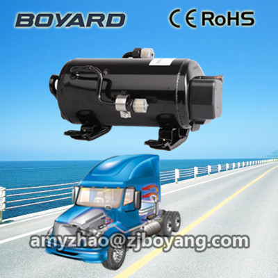 Hot Selling! BOYARD <strong>R134a</strong> hvac auto 12v <strong>24v</strong> bldc cooling <strong>compressor</strong> 10000 btu for hybrid solar portable air conditioner