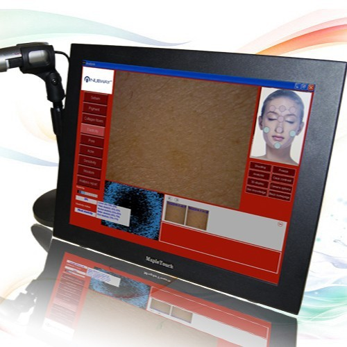 Latest products in market face skin scanner