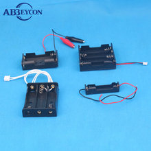 4AA battery holder with wire leads cover switch/4AA battery box/4AA battery case