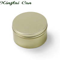 Wholesale Tin Box Metal Round Colorful Small Wedding Candy Sweet Cans Tea Container Clear Lid