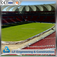 Steel Structre Construction Building football stadium for Gym
