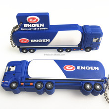 High spped real capacity OEM pen drive freight truck shaped usb