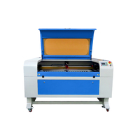 shenhui SH 1290 fabric MDF wood 100w CO2 laser cutting machine