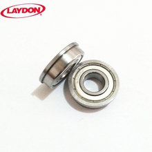 China factory supply high quality double seal F6901 F6901ZZ 12x24x6 miniature flange ball bearing