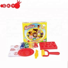 Intelligent DIY 3D colorful play dough toys modeling clay for kids