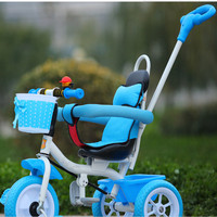 Beautiful candy colours 3 wheels children ride on toy baby tricycle